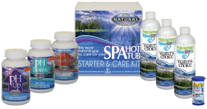 waters choice and natural spa and hot tub enzymes