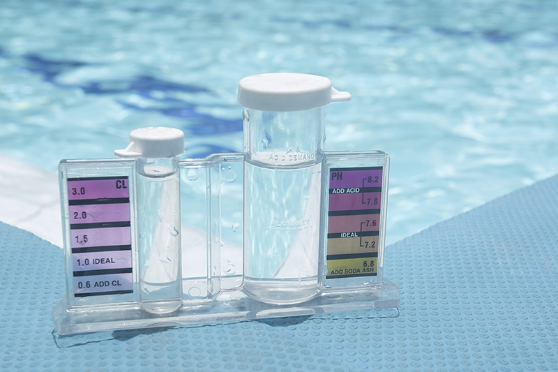 Test your water regularly and have Kay Pool & Spa Services handle your pool maintenance.